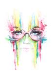 Eyesight Print by  okalinichenko