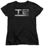 Womans: Terminator 2 - Gunshot Logo Shirts