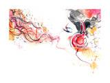Sound of Music Prints by  okalinichenko