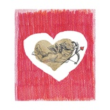 Cupid End Goldenheart Whith Red Crayon Prints by  tannene