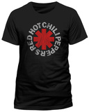 Red Hot Chili Peppers - Distressed Asterisk T-skjorte