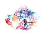 Parigi  Poster di  okalinichenko