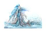 Mermaid Posters by  okalinichenko