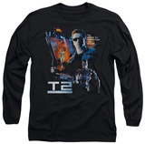Long Sleeve: Terminator 2 - Battle T-Shirt
