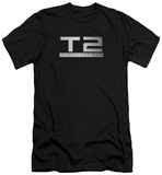 Terminator 2 - Logo (slim fit) T-Shirt