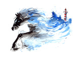 Force of Nature Print by  okalinichenko