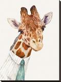 Mr. Giraffe Impressão em tela esticada por  Animal Crew