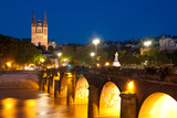 Angers at Night Photographic Print by  SergiyN