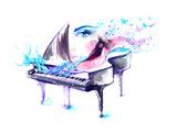 Muziek Poster van  okalinichenko