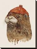 River Otter キャンバスプリント :  Animal Crew
