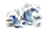 Storm Print by  okalinichenko