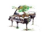 Musik Giclee-tryk i høj kvalitet af  okalinichenko