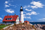 Portland Head Lighthouse in Cape Elizabeth, Maine Photographic Print by  leekris