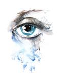 Eye Posters by  okalinichenko