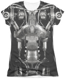 Juniors: Terminator - Endoskeleton Costume T-Shirt