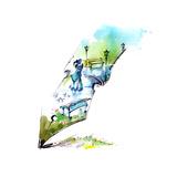 Spring Premium Giclee Print by  okalinichenko