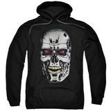 Hoodie: Terminator - Skull Pullover Hoodie
