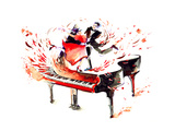 Music Prints by  okalinichenko