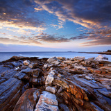 Pemaquid Point Coast, Bristol Maine Photographic Print by Paul Lemke