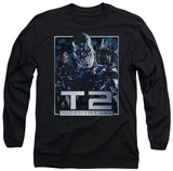 Long Sleeve: Terminator 2 - T2 Robots T-Shirt