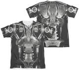 Terminator - Endoskeleton Costume (Front - Back Print) Shirts