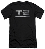 Terminator 2 - Gunshot Logo (slim fit) T-shirts