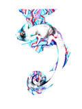 Chameleon Prints by  okalinichenko