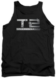 Tank Top: Terminator 2 - Gunshot Logo Tank Top