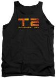 Tank Top: Terminator 2 - Fire Logo Tank Top