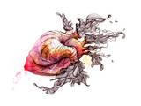 Heart Prints by  okalinichenko