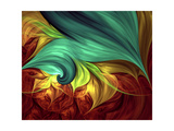 Computer Generated Fractal Artwork Prints by  Stocklady
