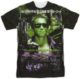Terminator - Japan Poster Sub T-shirts