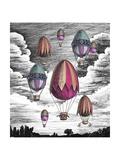 tannene - Eggs Balloons for Easter - Reprodüksiyon