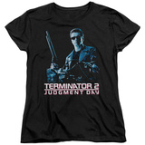 Womans: Terminator 2 - Poster T-shirts