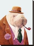 Walrus Impressão em tela esticada por  Animal Crew