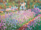 The Artist's Garden by Claude Monet 1000 Piece Puzzle Jigsaw Puzzle