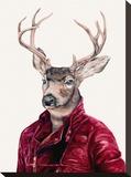 鹿 キャンバスプリント :  Animal Crew