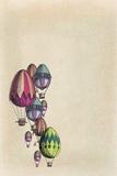tannene - Vintage Decoration of Eggs Balloons - Reprodüksiyon
