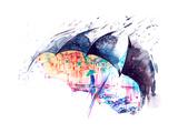 Rain Posters by  okalinichenko
