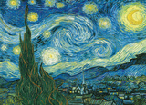 Starry Night by Vincent Van Gogh 1000 Piece Puzzle Jigsaw Puzzle