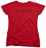 Womans: Terminator - Logo Outline Shirts