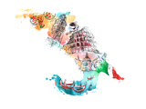 Italy Art by  okalinichenko