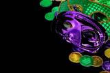 Mardi Gras Masks Photographic Print by  crlocklear