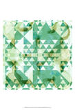 Geometry in Mint I Poster by Amy Lighthall