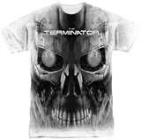 Terminator - Endoskeleton Face T-shirts