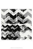 Abstract Chevron II Posters par Amy Lighthall