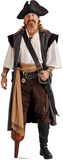 Pirate Peg Leg Lifesize Standup Cardboard Cutouts