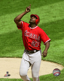 Vladimir Guerrero 2007 Action Photo