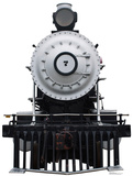Steam Locomotive 7 Standup Cardboard Cutouts
