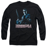Long Sleeve: Terminator 2 - Poster T-Shirt